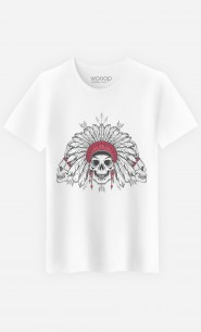 T-Shirt Homme Native Skull