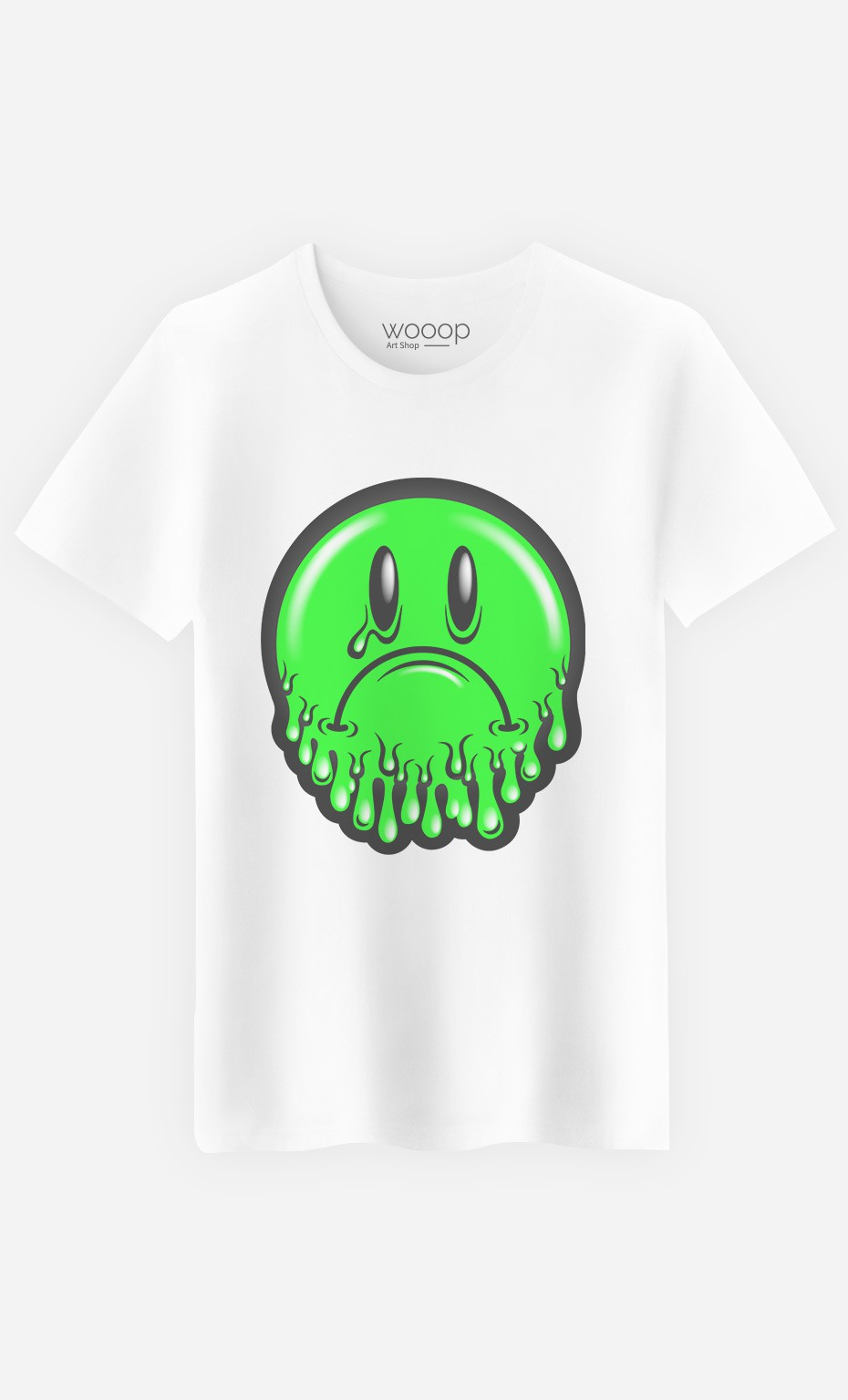 T-Shirt Sad Smiley
