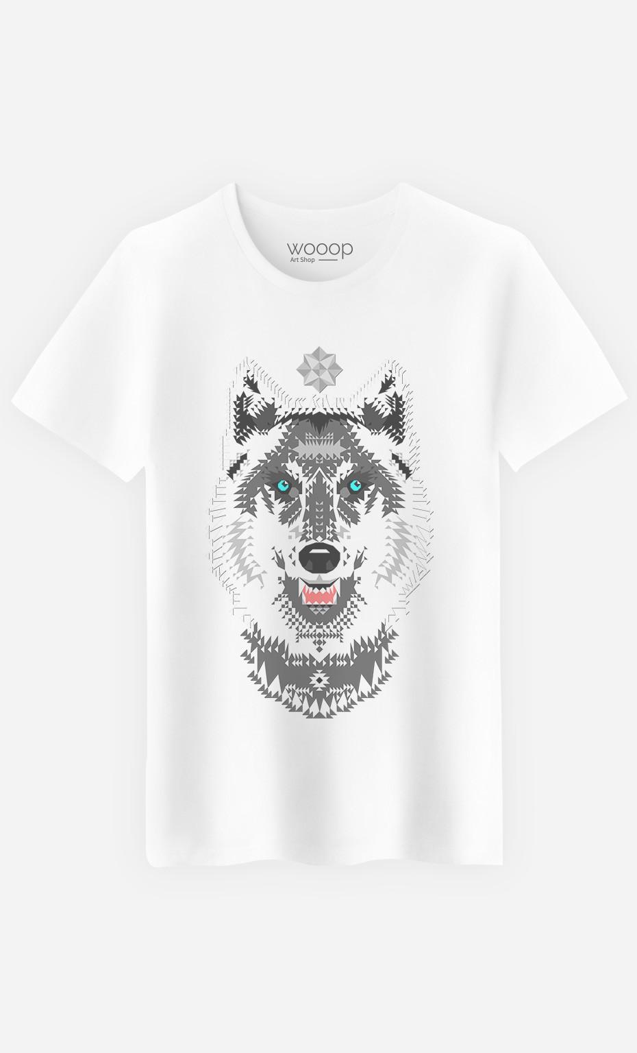 T-Shirt Silver Wolf