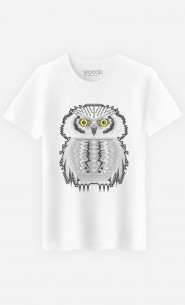 T-Shirt Homme Snow Owl