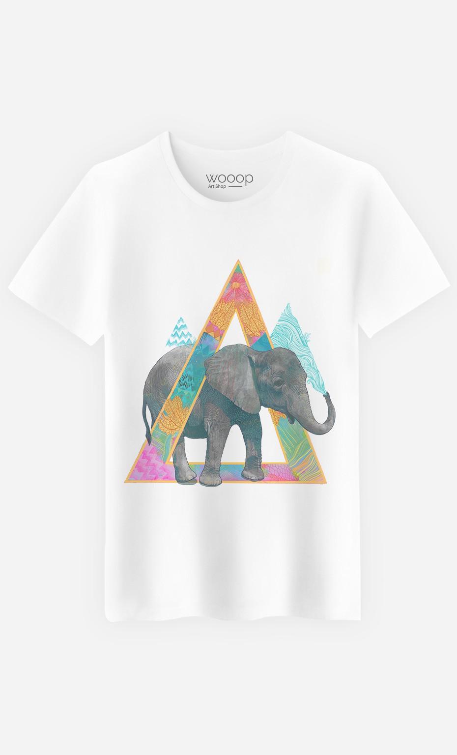 T-Shirt Homme Elephant