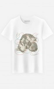 T-Shirt Homme Sleeping Cats