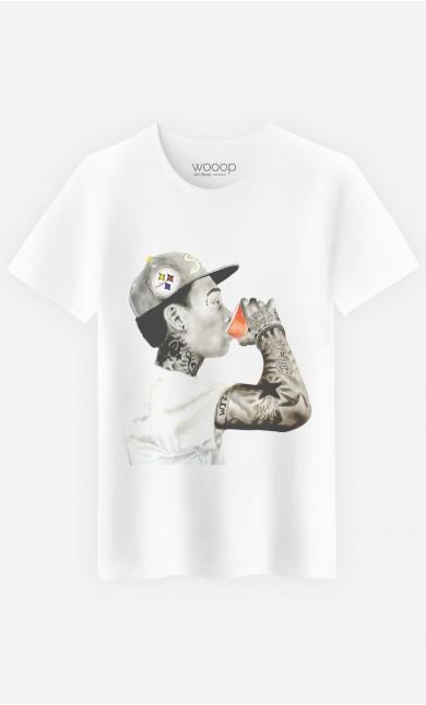 T-Shirt Wiz Khalifa Red Cup