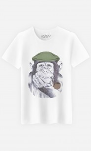 T-Shirt Homme Wise Mr Chimp