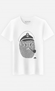T-Shirt Homme Captain Monkey