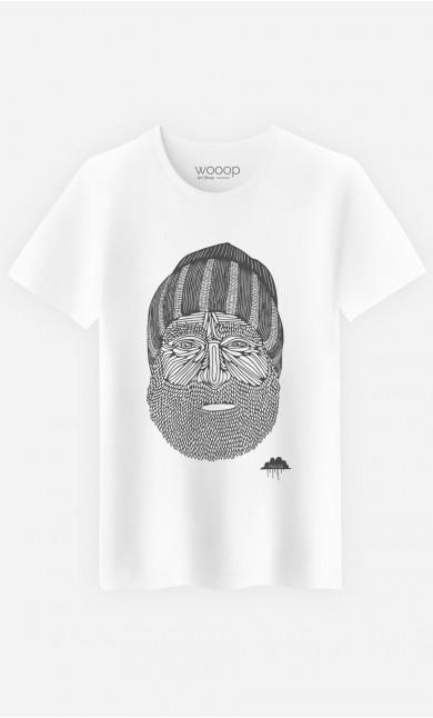 T-Shirt Beanie Man