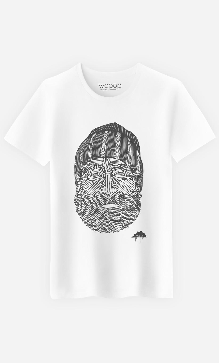 T-Shirt Homme Beanie Man