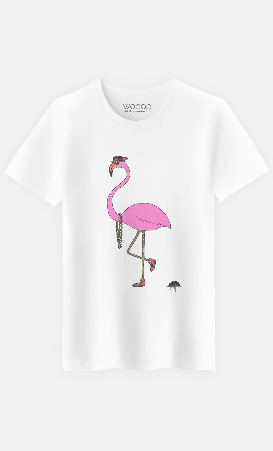 T-Shirt Homme Frederick The Flamingo