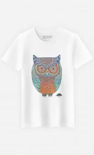 T-Shirt Homme Ollie The Owl