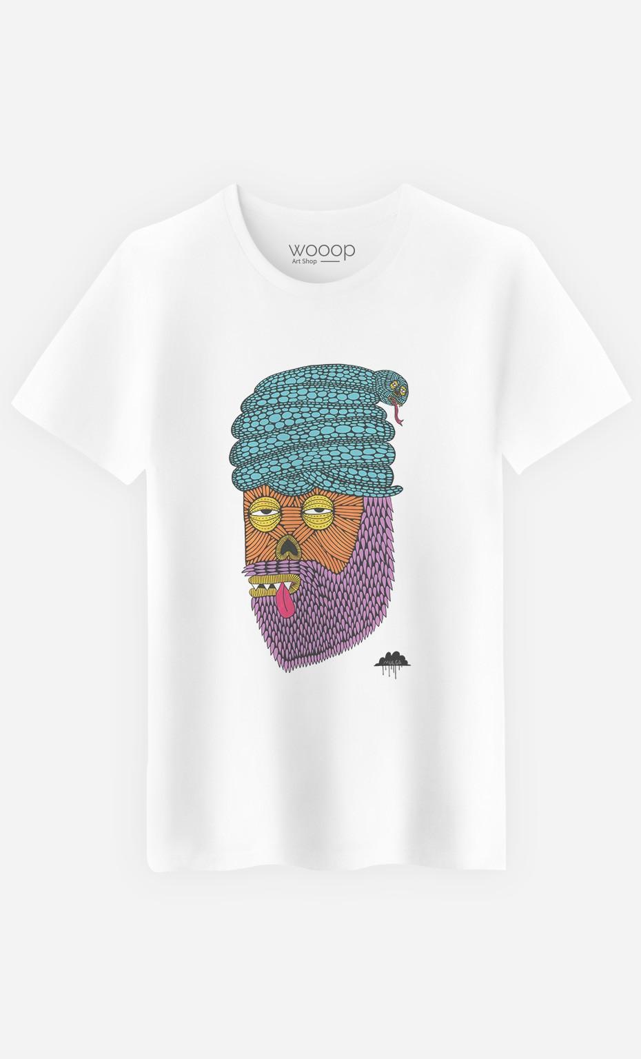 T-Shirt Homme Snake Turban