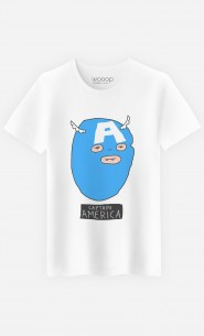T-Shirt Homme Captain America