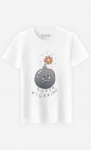T-Shirt Homme Super Migraine