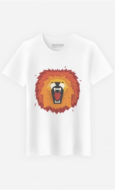 T-Shirt Homme Lion