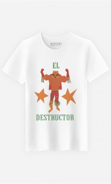 T-Shirt Homme Luchador