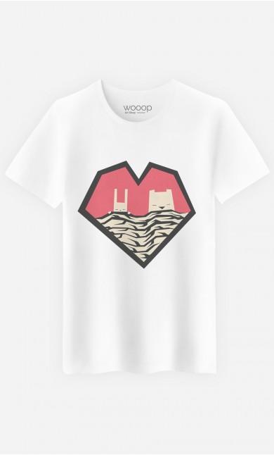 T-Shirt Homme Sleeping Couple
