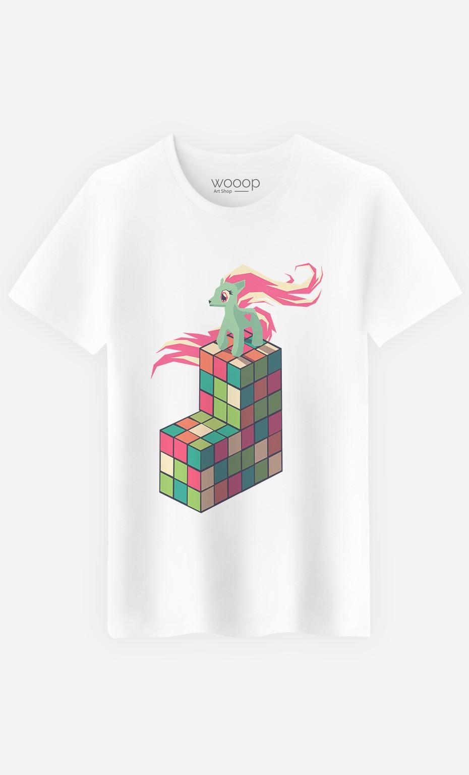 T-Shirt Homme Pony Rubik