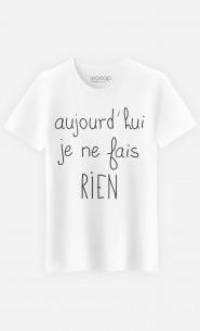 T-Shirt Homme Je Ne Fais Rien