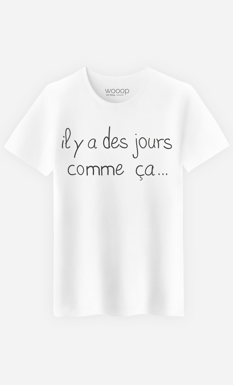 T-Shirt Homme Des Jours Comme Ça