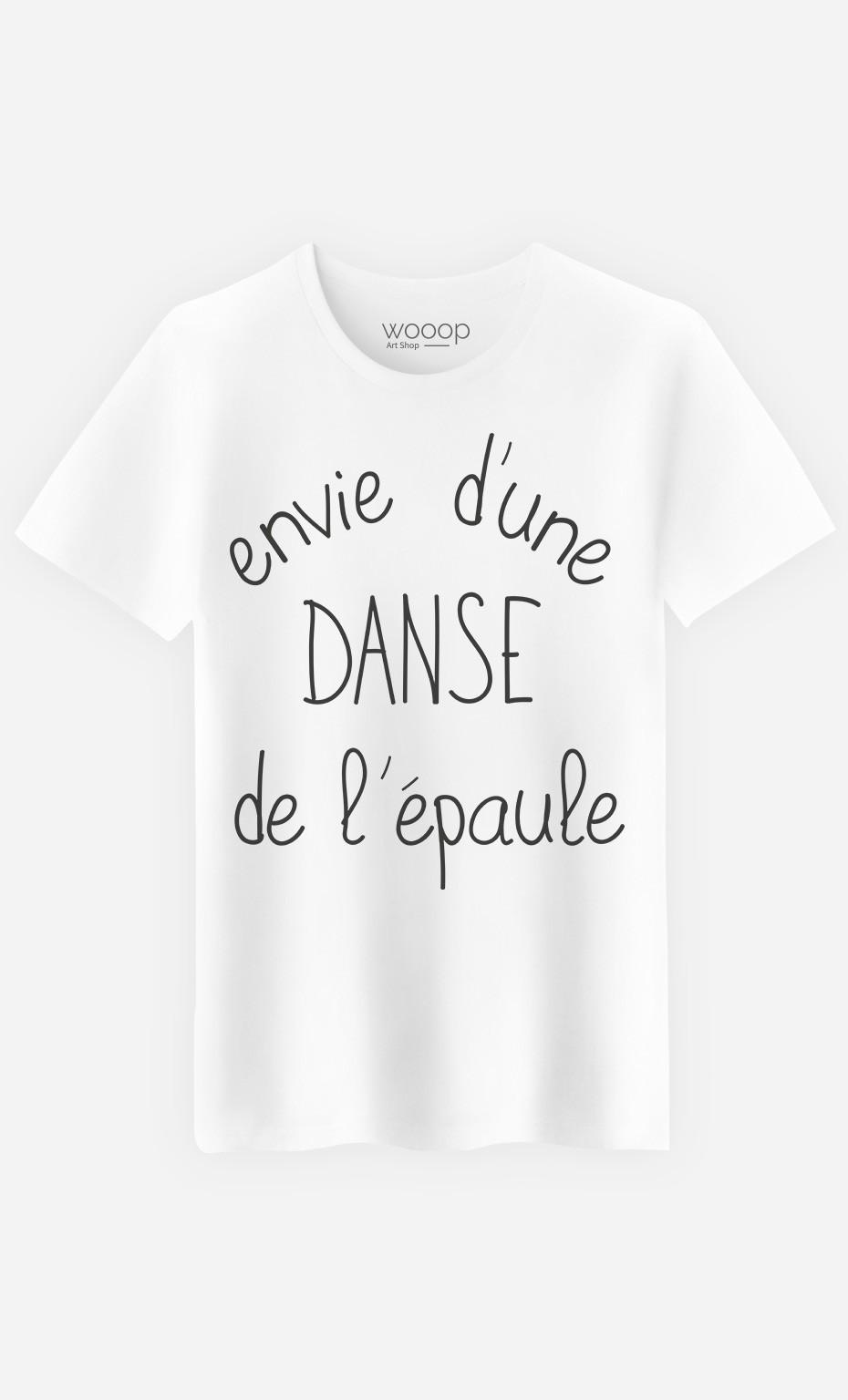 T-Shirt Homme Danse de l'Épaule