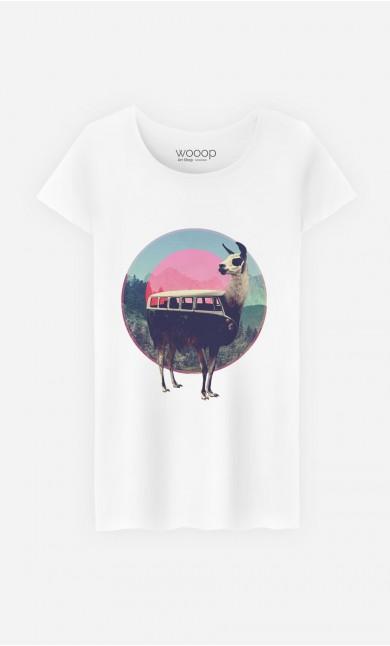 T-Shirt Femme Combi Llama