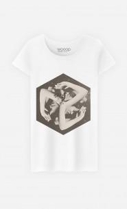 T-Shirt Femme Hexabox