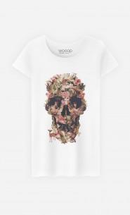 T-Shirt Femme Jungle Skull