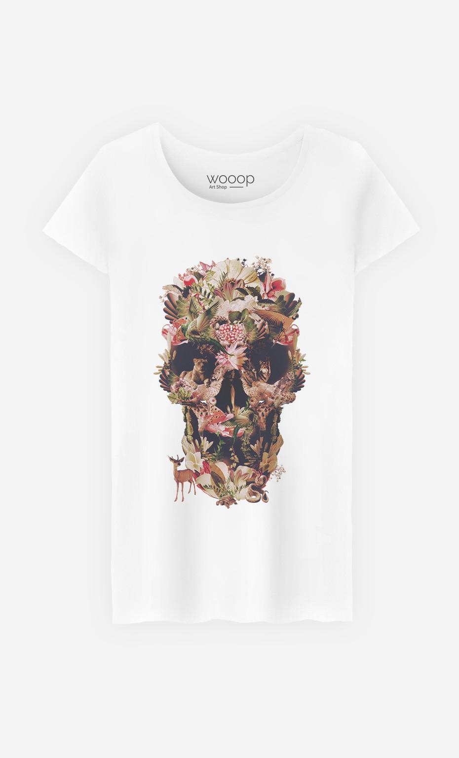 T-Shirt Jungle Skull