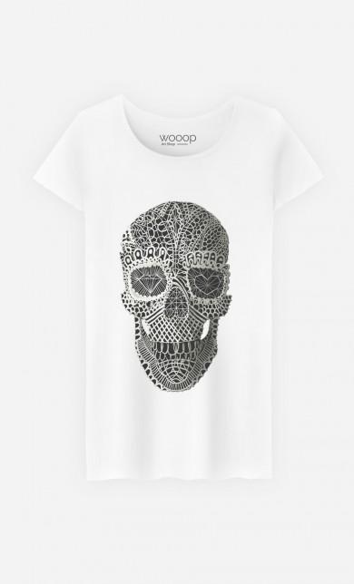 T-Shirt Lace Skull