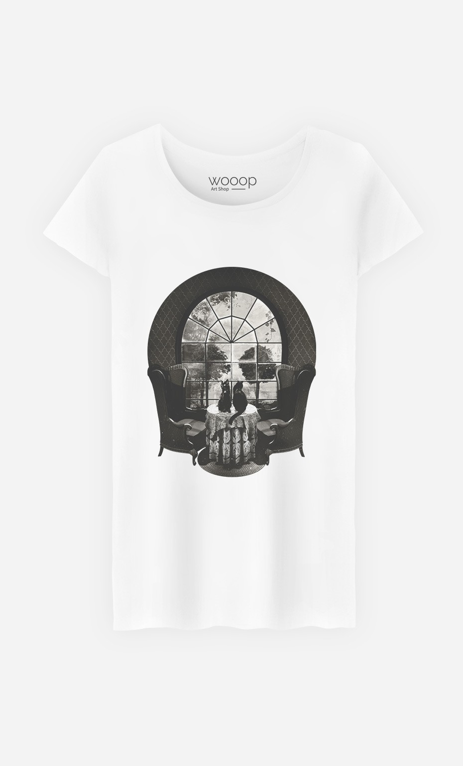 T-Shirt Femme Manor Skull
