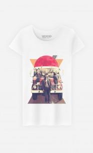 T-Shirt Femme Space Deers