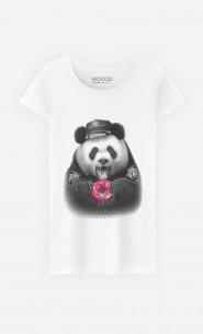 T-Shirt Femme Donutcop