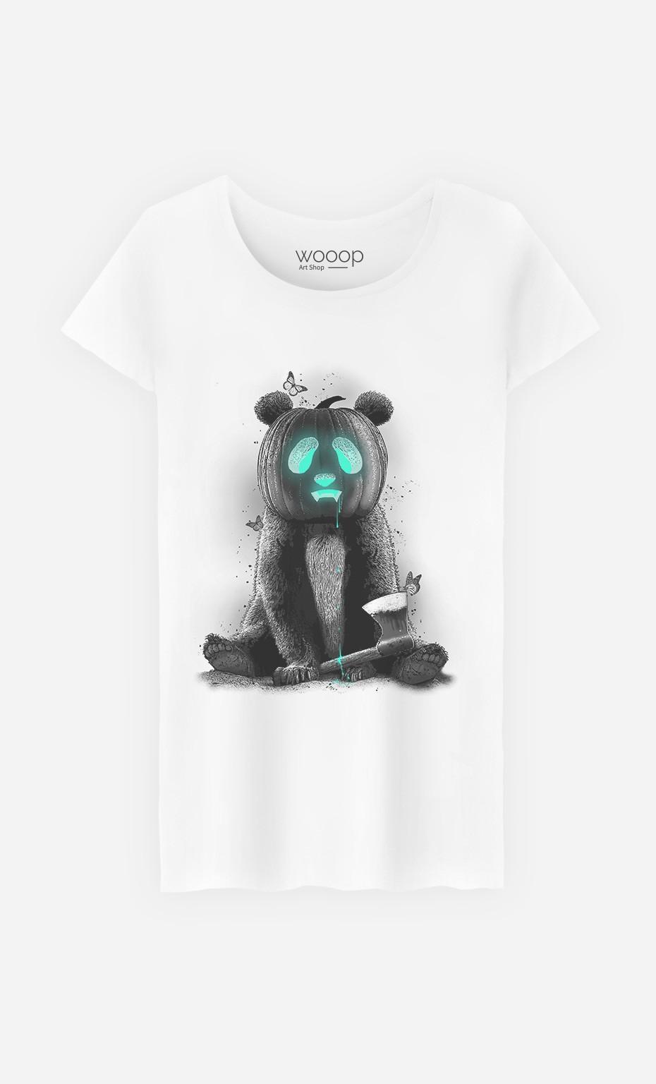 T-Shirt Femme Pandaloween