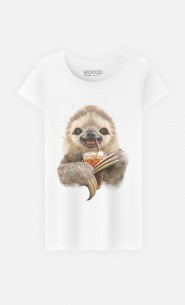 T-Shirt Sloth & Drink
