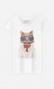 T-Shirt Femme Astro Cat