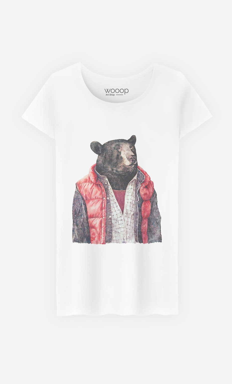 T-Shirt Femme Black Bear