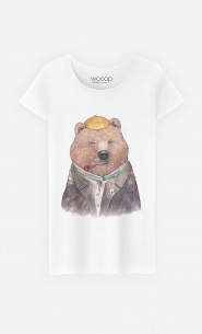 T-Shirt Femme Brown Bear