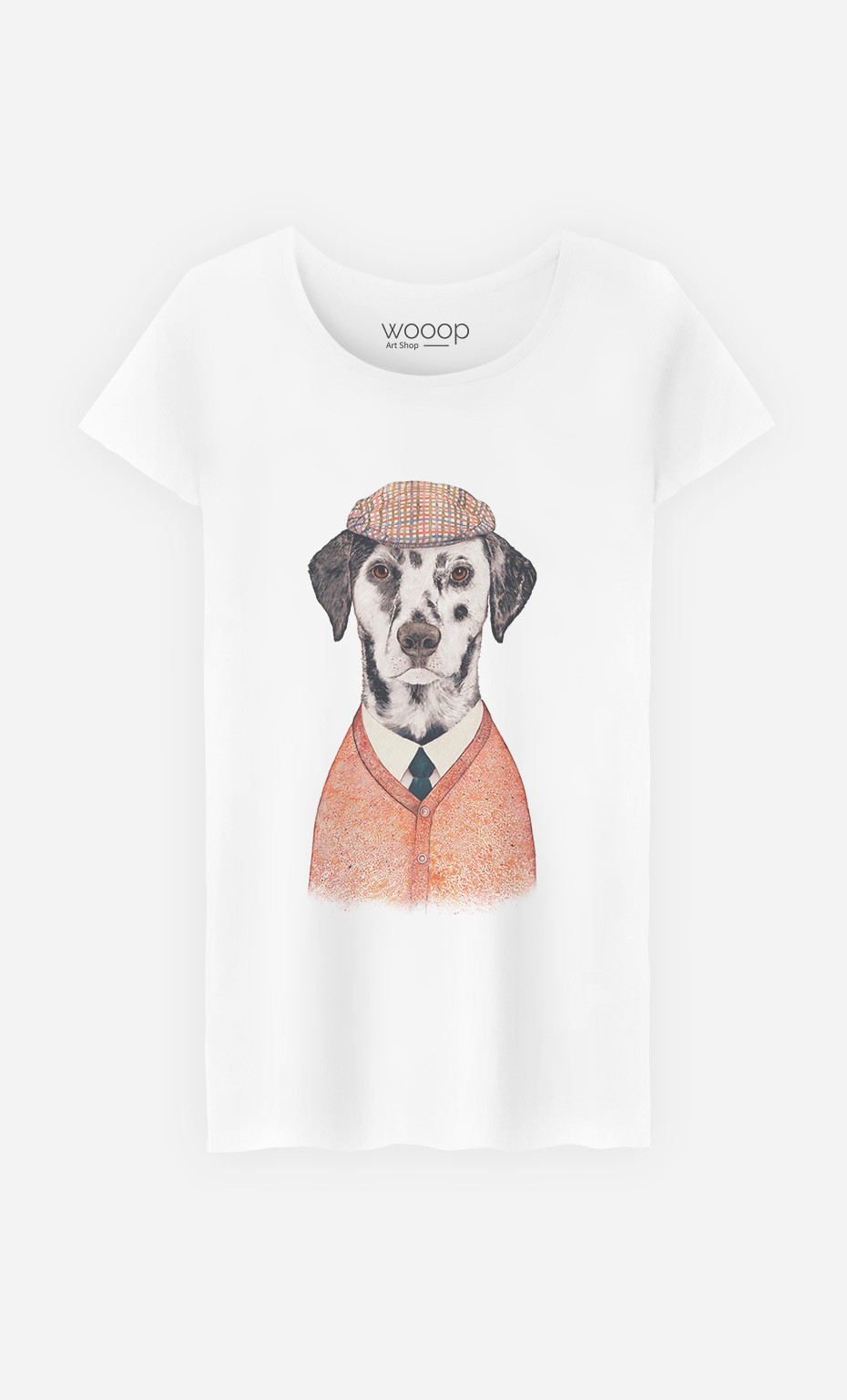 T-Shirt Femme Dalmatian