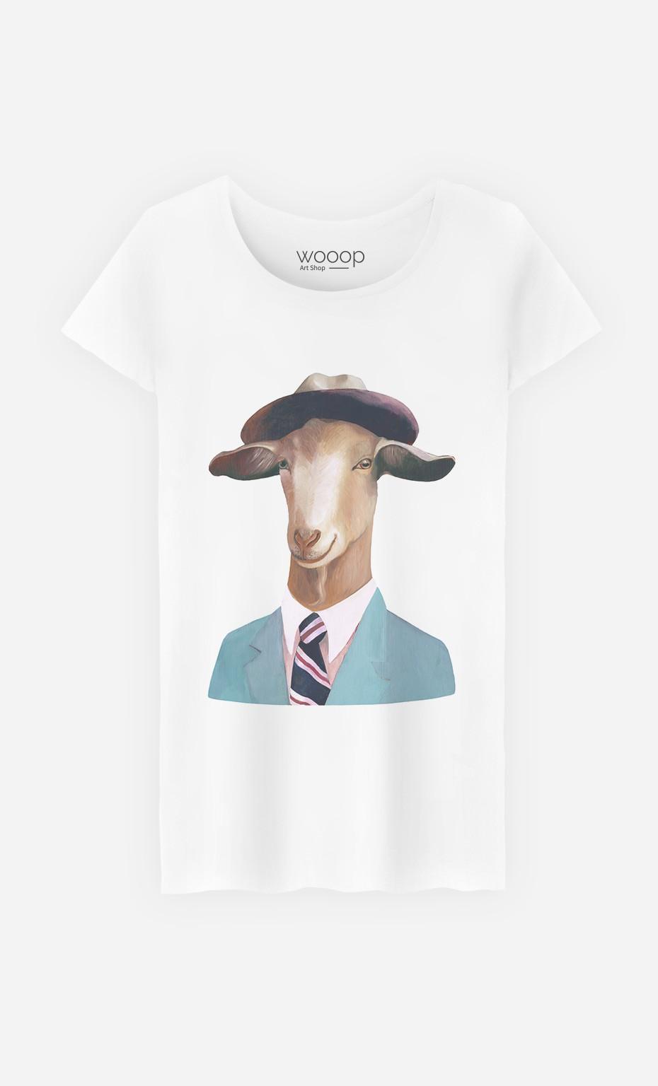 T-Shirt Femme Goat