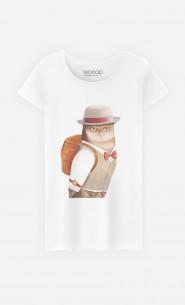 T-Shirt Femme Owl Traveller