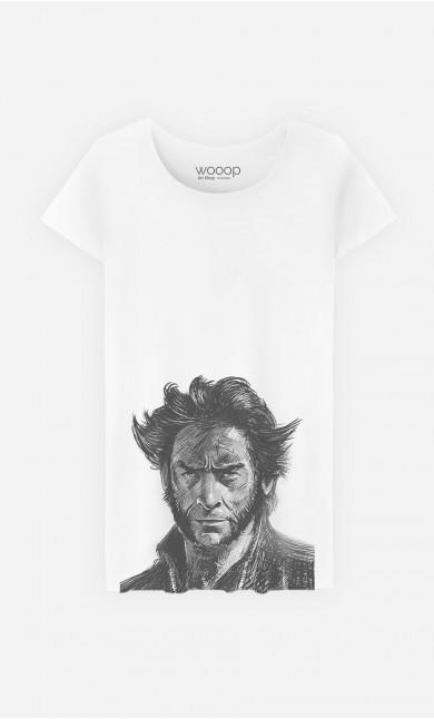 T-Shirt Femme Wolverine 2