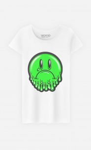 T-Shirt Femme Sad Smiley