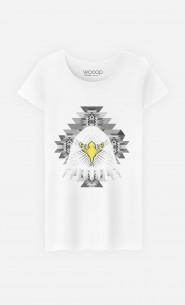 T-Shirt Femme Geo Eagle