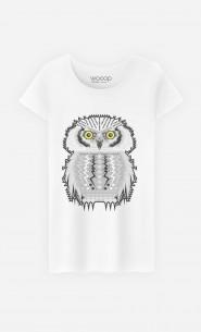 T-Shirt Femme Snow Owl