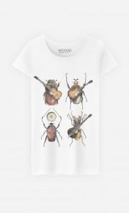 T-Shirt Femme Beetles