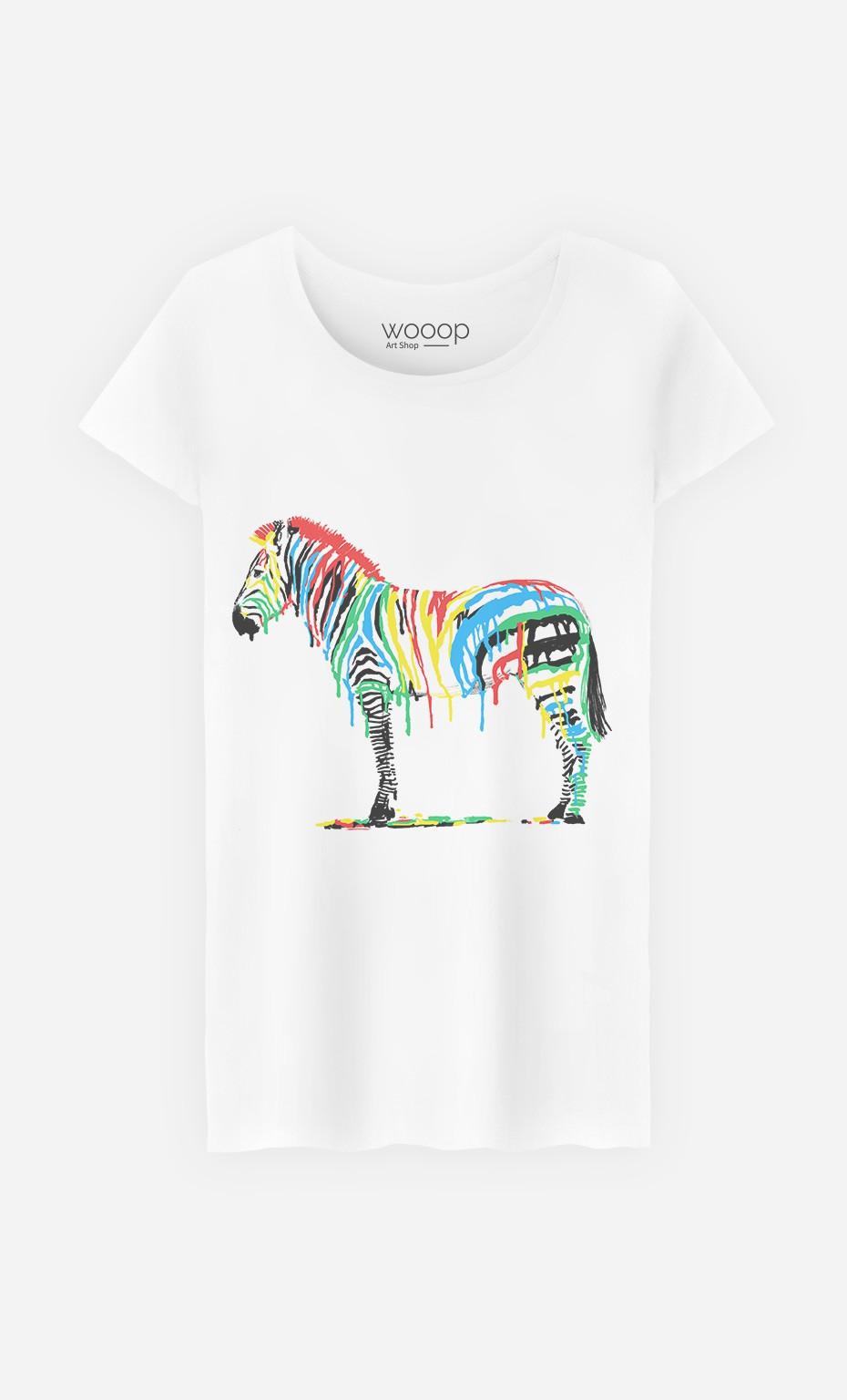 T-Shirt Femme Fresh Paint