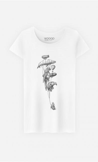 T-Shirt Femme Helium Menagerie