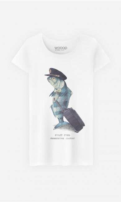 T-Shirt Femme Pilot