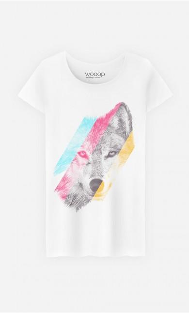 T-Shirt Femme Wild Wolf