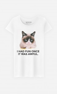 T-Shirt Femme Grumpy