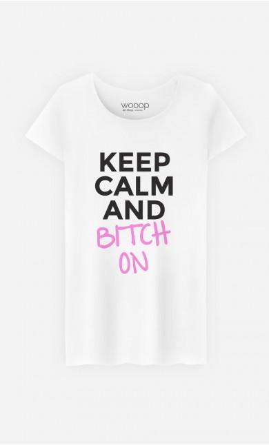 T-Shirt Femme Keep Calm